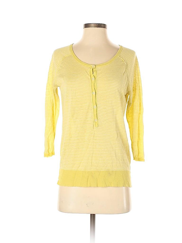 Joie Women 3/4 Sleeve Henley Size S