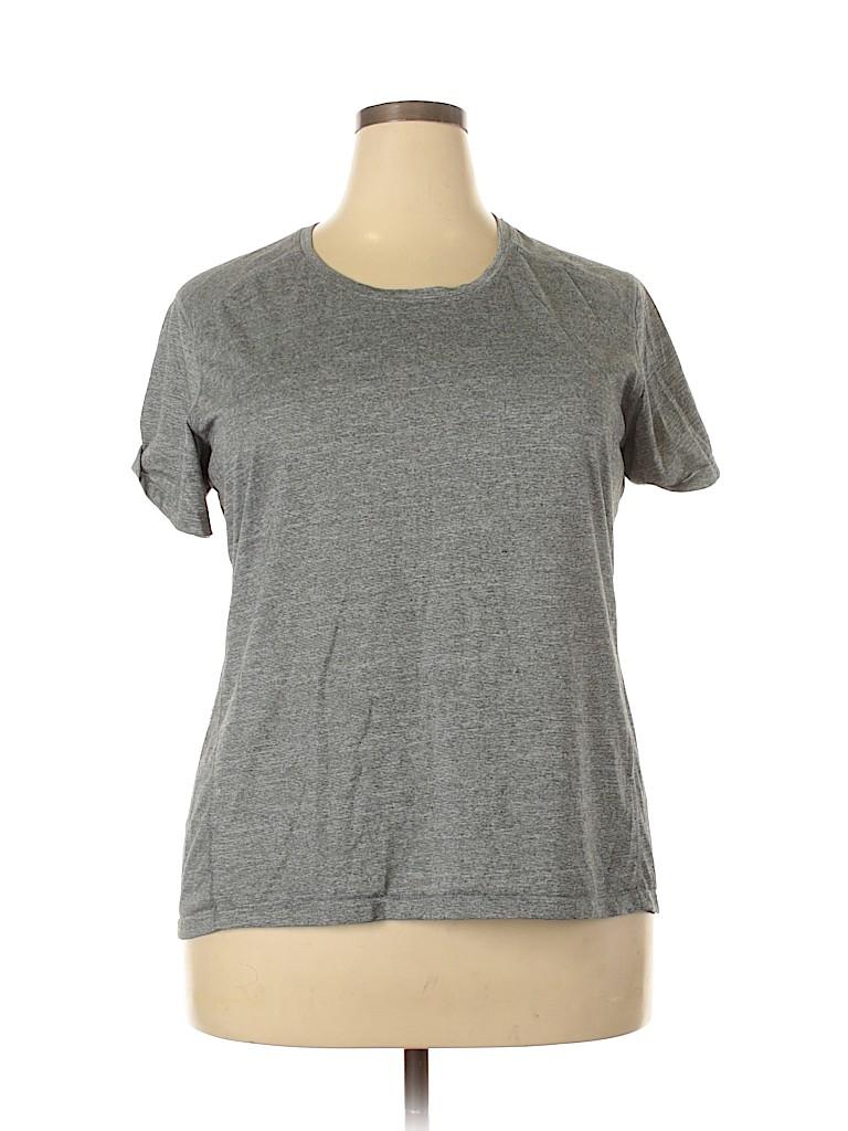 REI Women Active T-Shirt Size 2X (Plus)