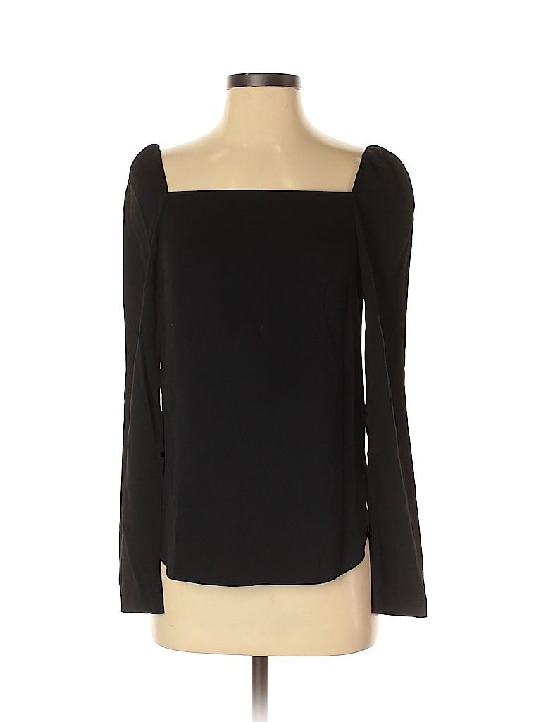 Club Monaco Women Long Sleeve Blouse Size XS