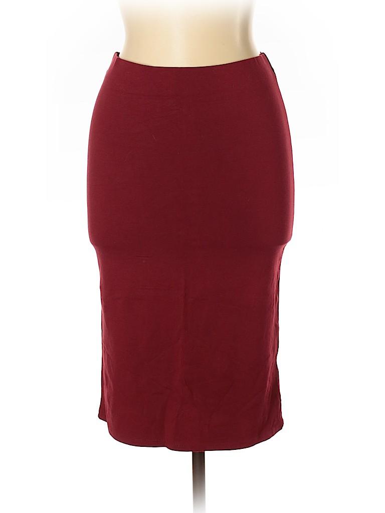 Heart Hips Women Casual Skirt Size L