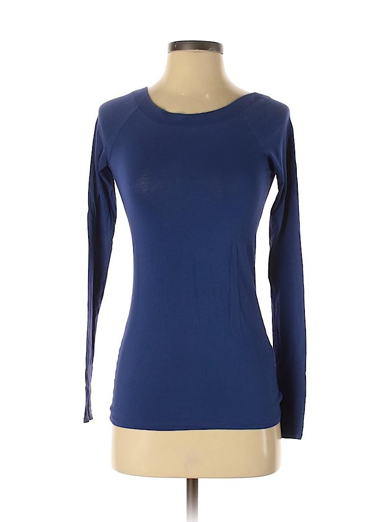 Vince. Women Long Sleeve T-Shirt Size XS