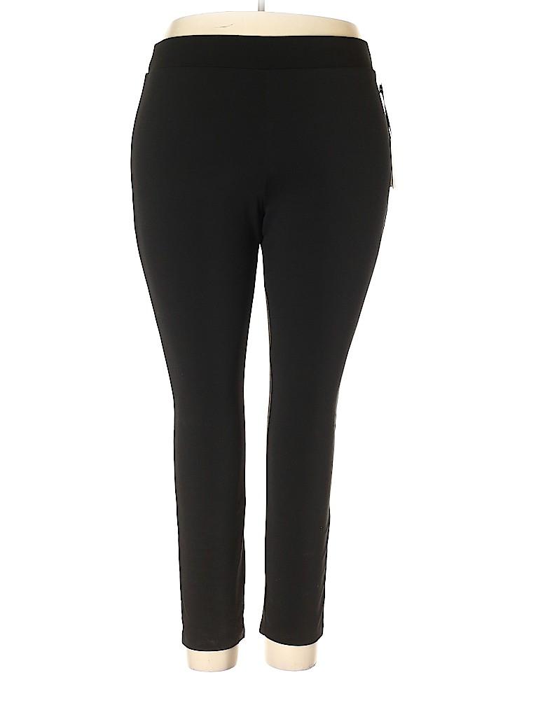 Simply Vera Vera Wang Women Casual Pants Size 1X (Plus)