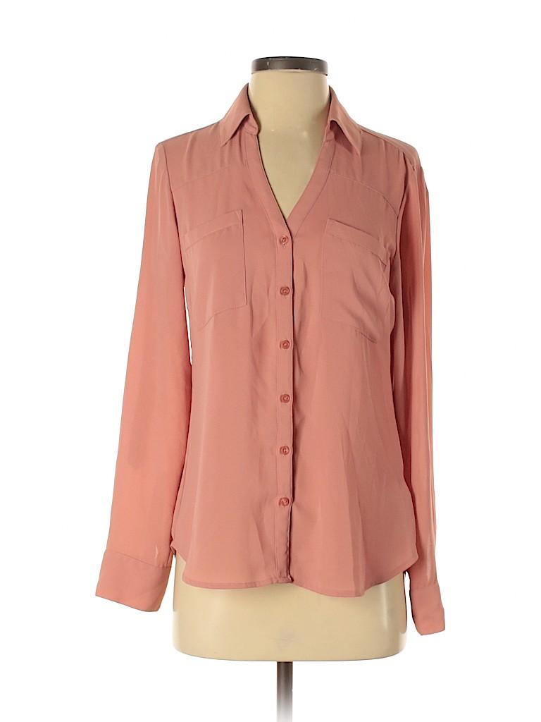Express Women Long Sleeve Blouse Size S