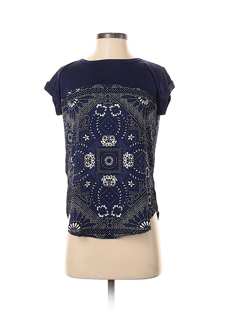 Rewind Women Short Sleeve Blouse Size XS