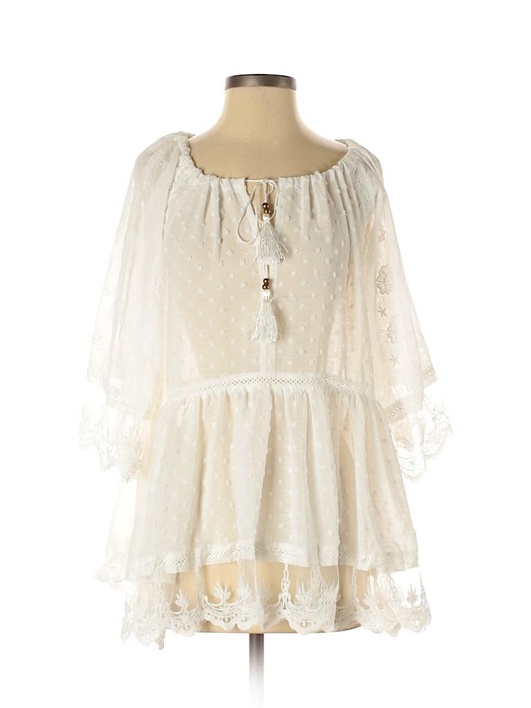 VICI Women 3/4 Sleeve Blouse Size S