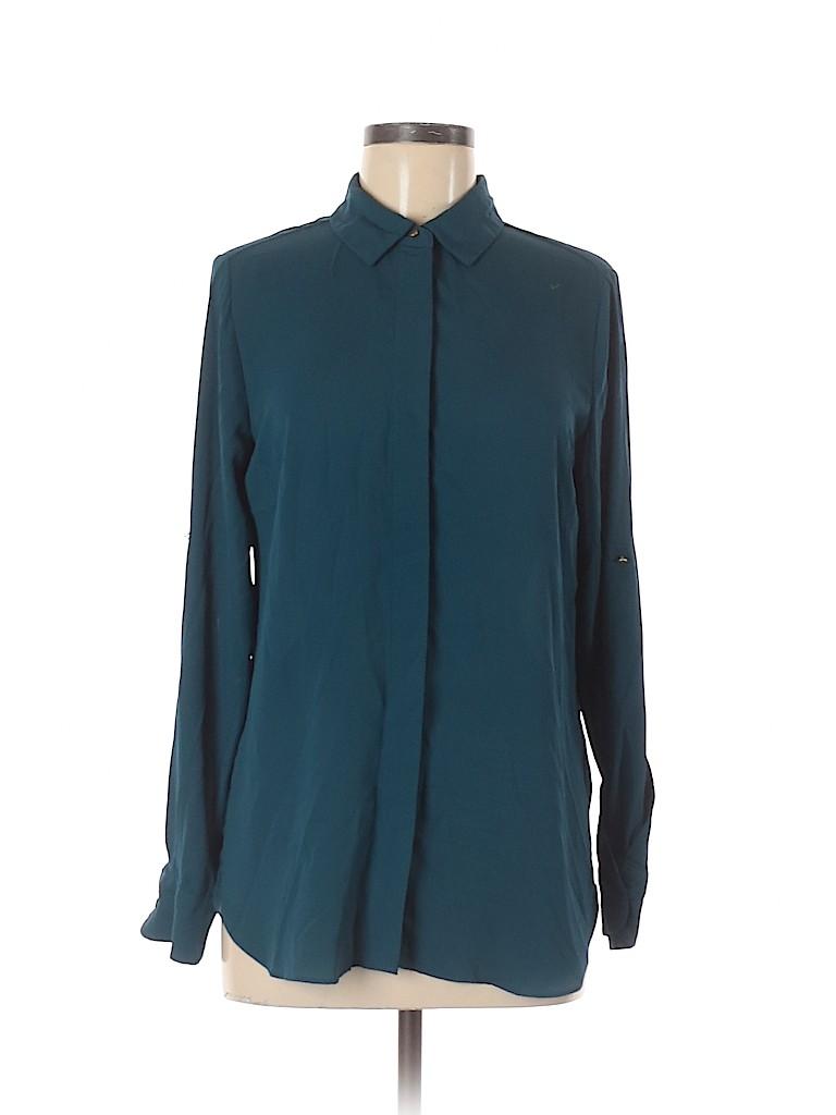 Mossimo Women Long Sleeve Blouse Size M