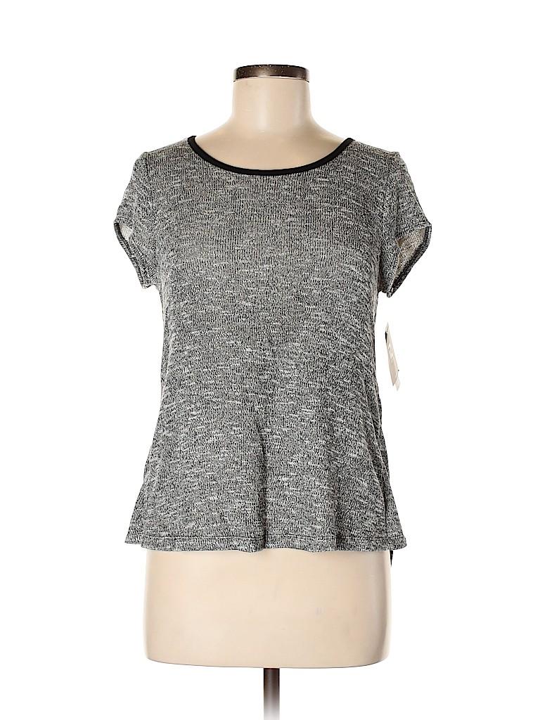 Iz Byer Women Short Sleeve Blouse Size M