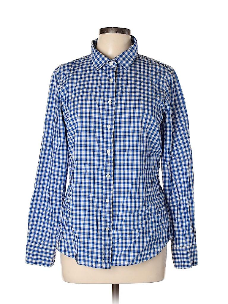 J. Crew Women Long Sleeve Button-Down Shirt Size 10
