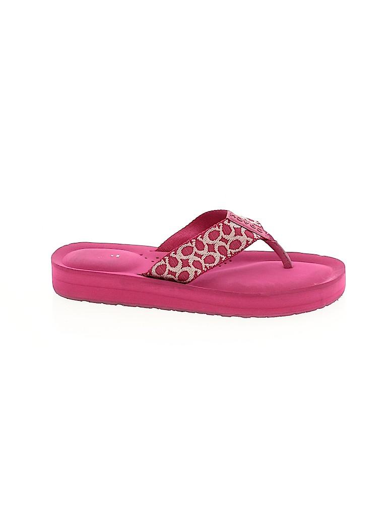 Coach Women Flip Flops Size 6