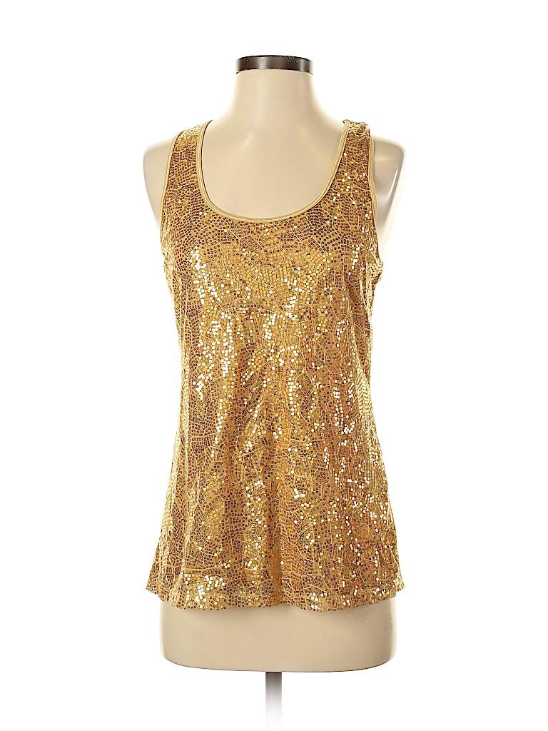 Romeo & Juliet Couture Women Sleeveless Blouse Size M