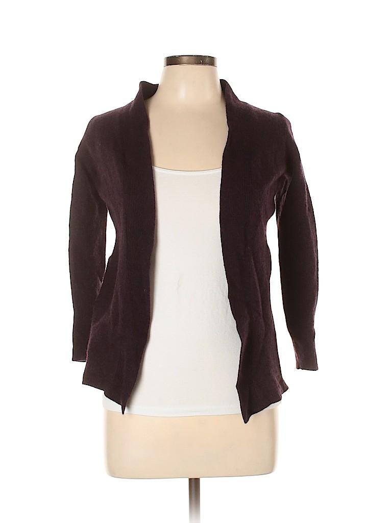 Adrienne Vittadini Women Wool Cardigan Size L