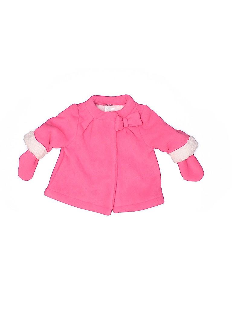 Gymboree Girls Fleece Jacket Size 0-3 mo