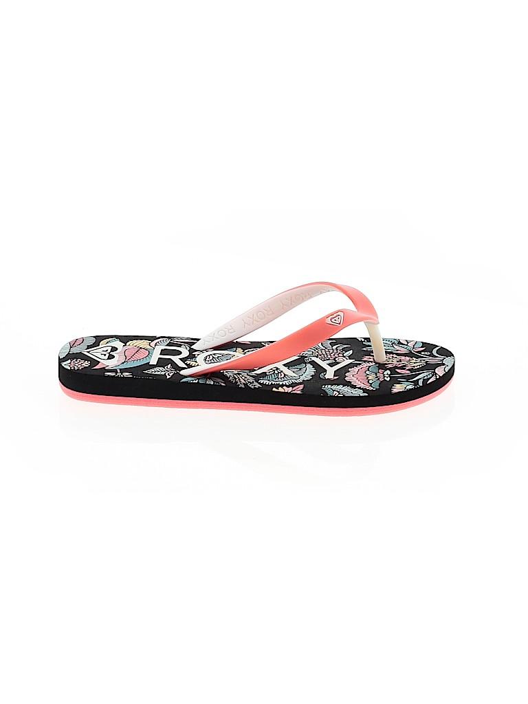 Roxy Girls Flip Flops Size 13-1 Youth