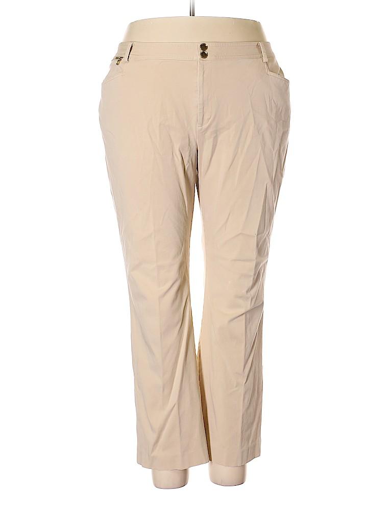 Lauren by Ralph Lauren Women Khakis Size 20 (Plus)