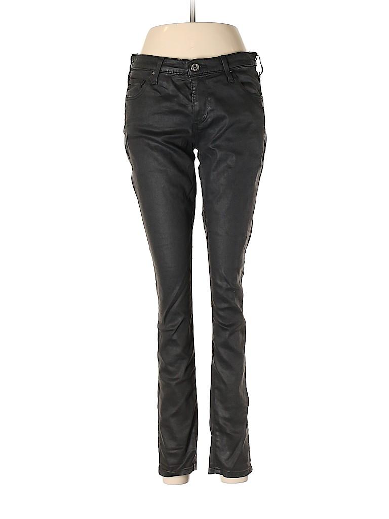 Adriano Goldschmied Women Leather Pants 28 Waist