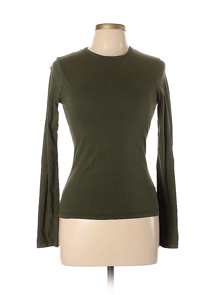 James Perse Women Long Sleeve T-Shirt Size Lg (3)