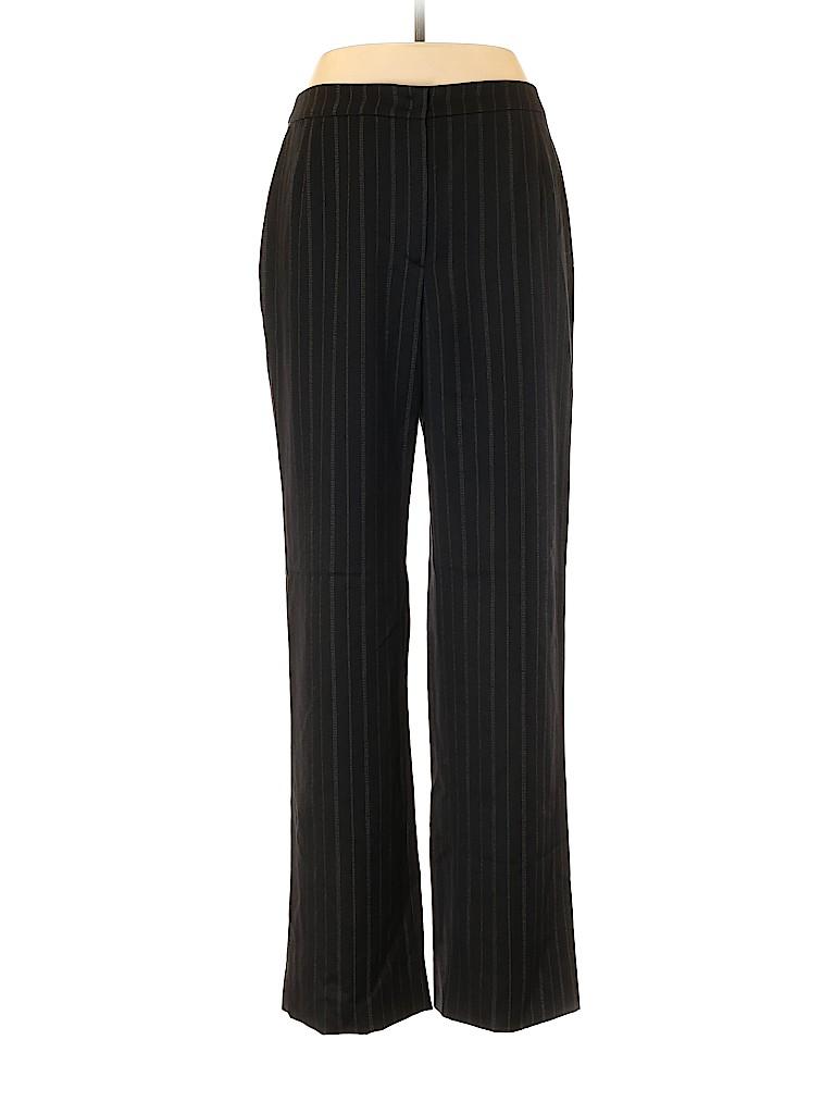 Armani Collezioni Women Wool Pants Size 48 (IT)