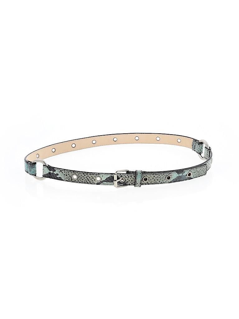 W by Worth Women Leather Belt Size M