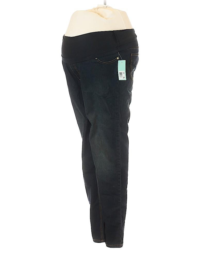 Oh! Mamma Women Jeans Size XL (Maternity)