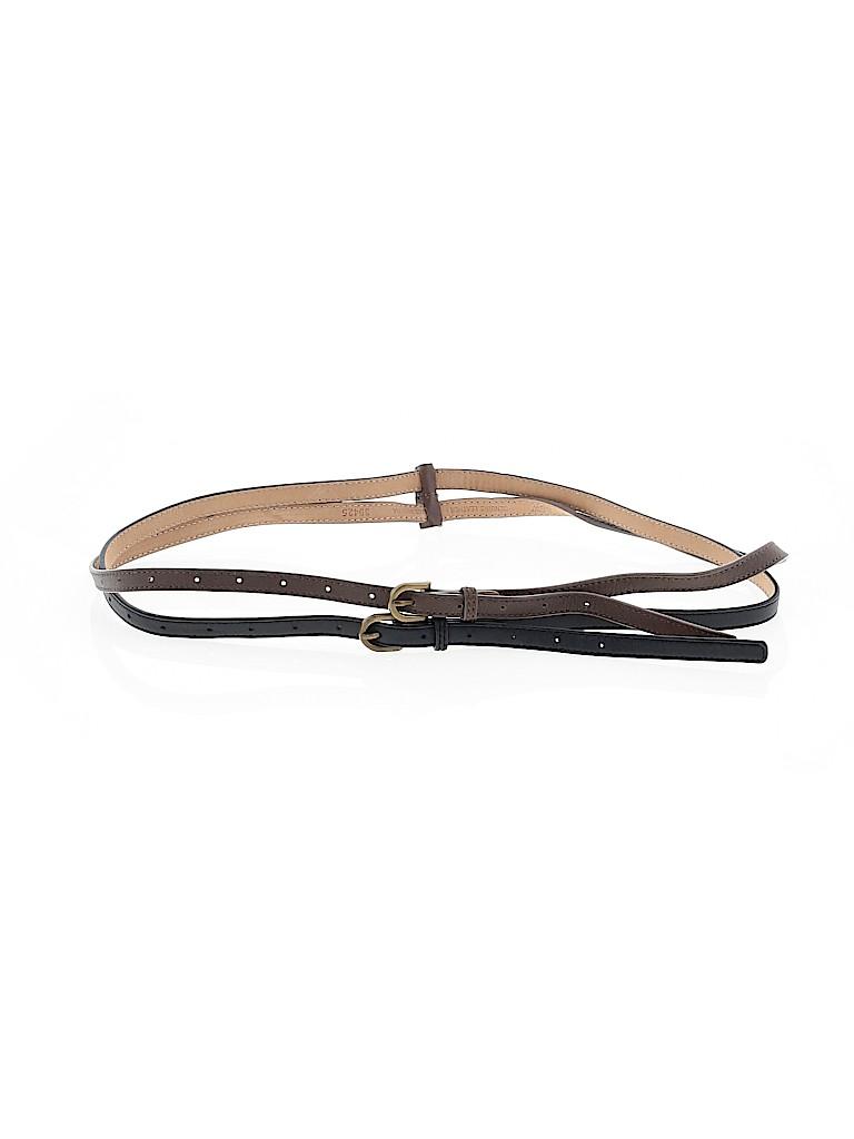 J. Crew Women Leather Belt Size S