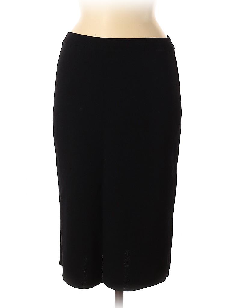 Adrienne Vittadini Women Casual Skirt Size M