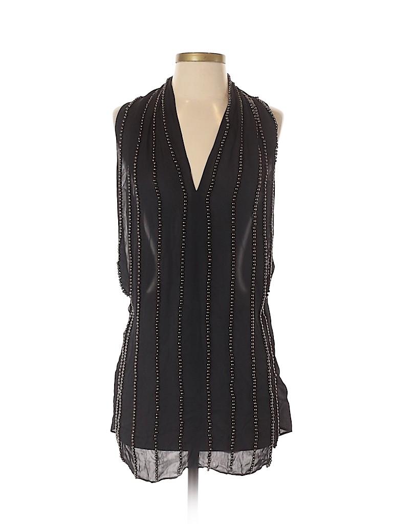Etcetera Women Sleeveless Silk Top Size 4