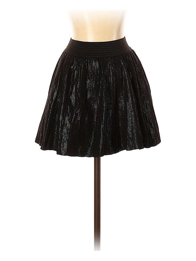 Parker Women Leather Skirt Size XS