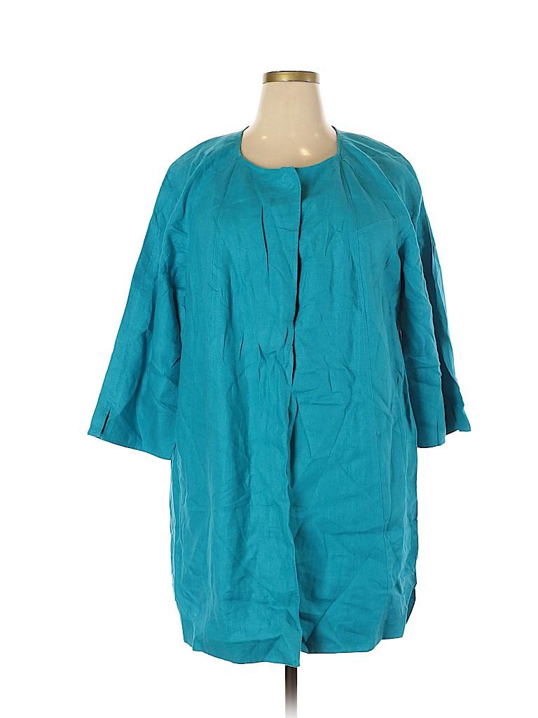 Talbots Women Jacket Size 3X (Plus)