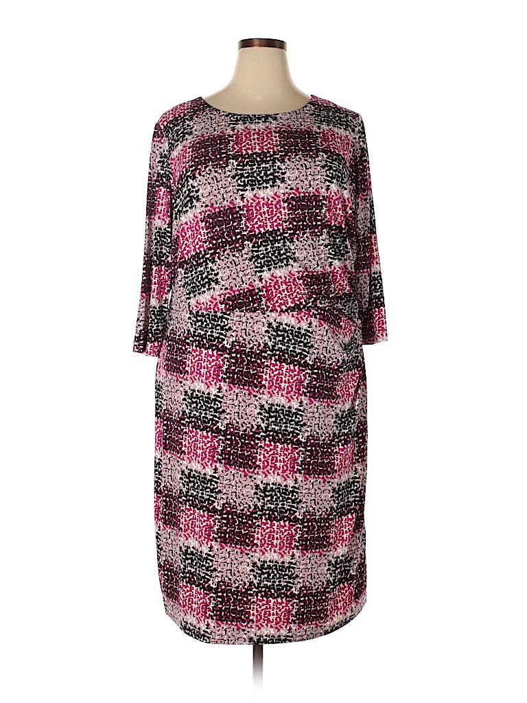 Eliza J Women Casual Dress Size 20 (Plus)