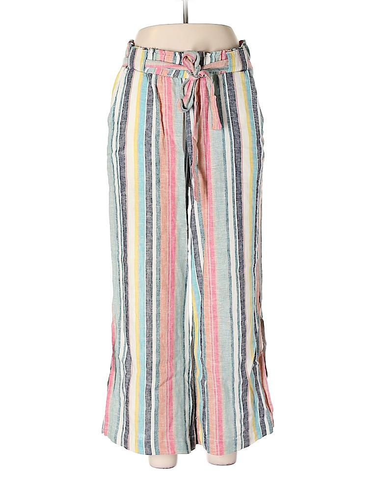 Indigo Rein Women Linen Pants Size L