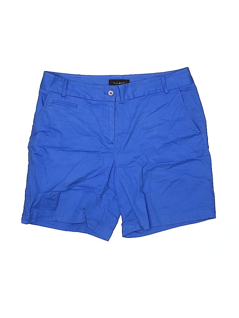 Talbots Women Khaki Shorts Size 8