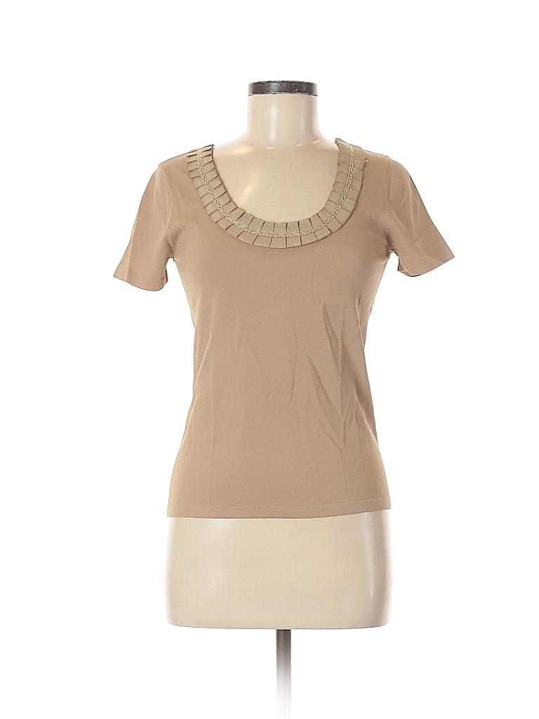 Alberto Makali Women Short Sleeve Top Size M