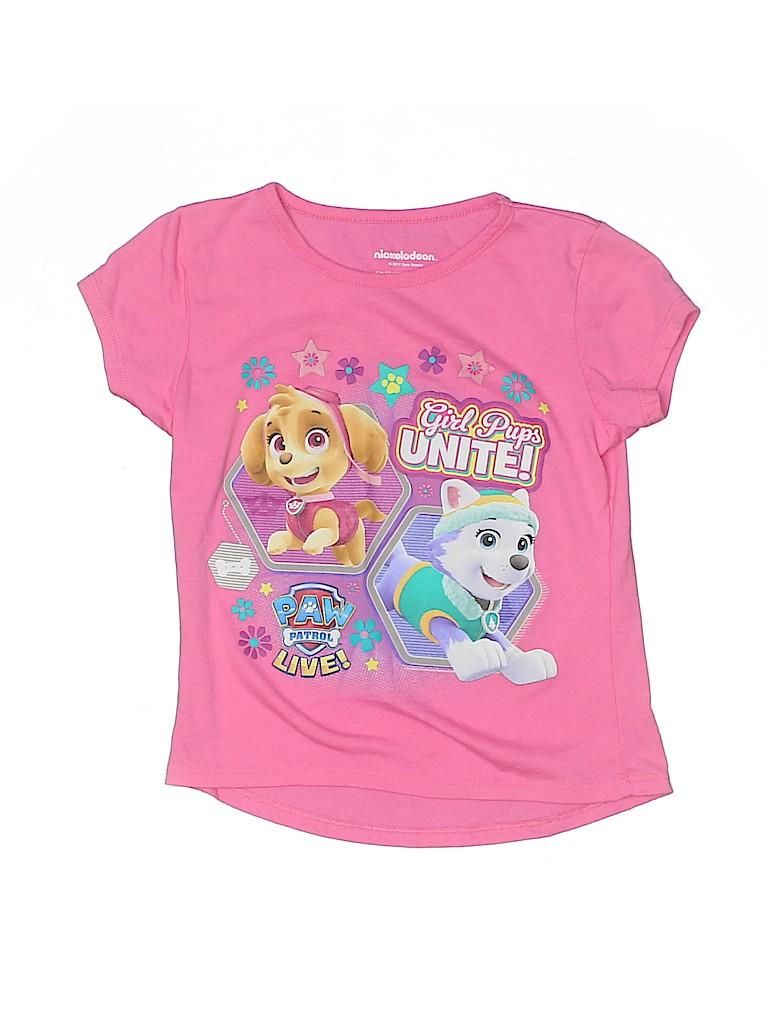 Nickelodeon Girls Short Sleeve T-Shirt Size 7