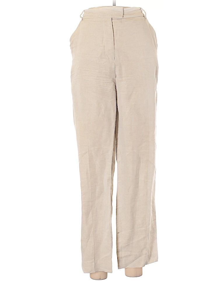Judith & Charles Women Linen Pants Size 8