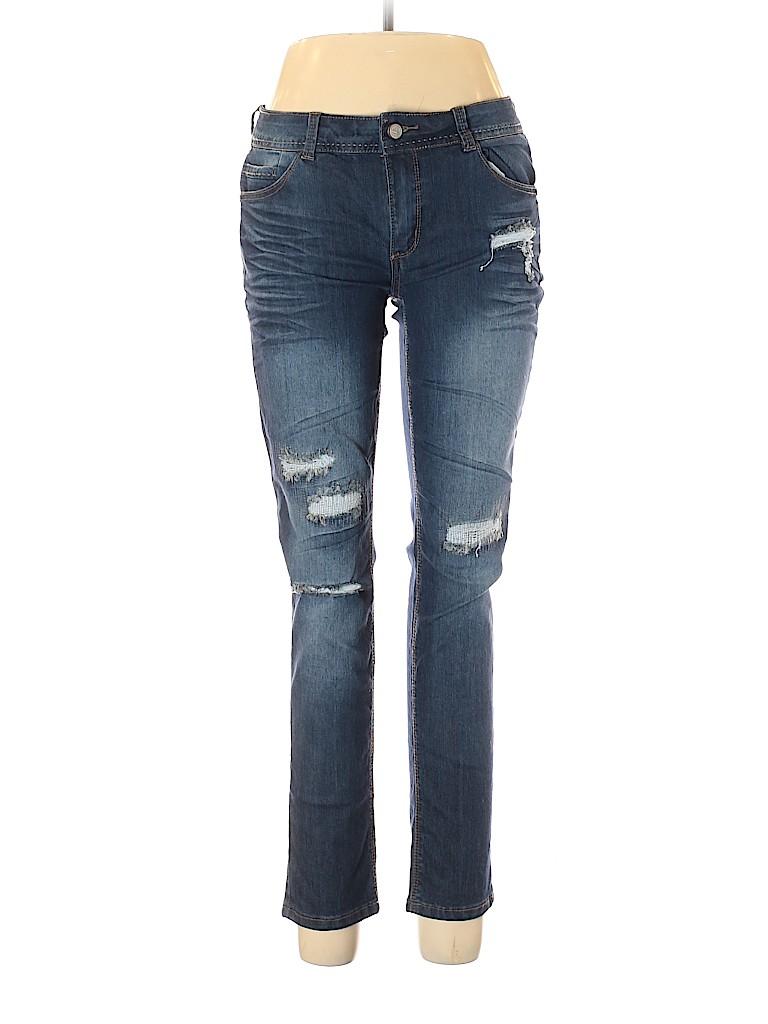 H&g Women Jeans Size 13