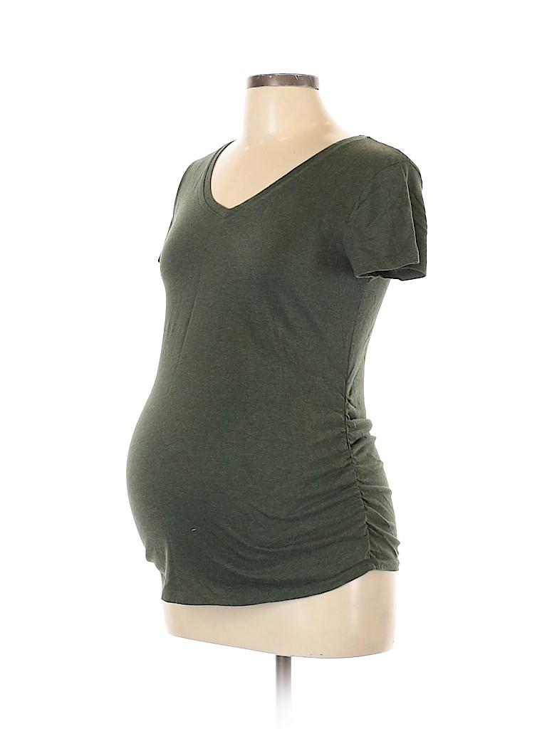 Isabel Maternity Women Short Sleeve T-Shirt Size M (Maternity)