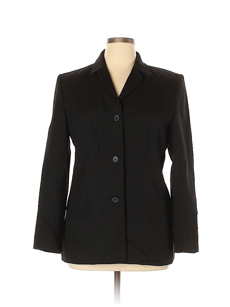 Rafaella Women Wool Blazer Size 14