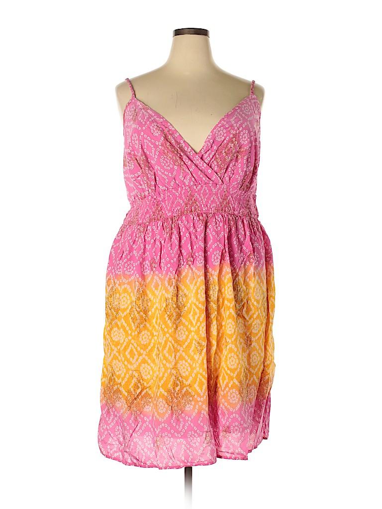 Lane Bryant Women Casual Dress Size 22 (Plus)