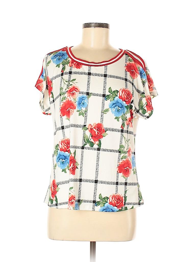 Love J Women Short Sleeve Top Size XL