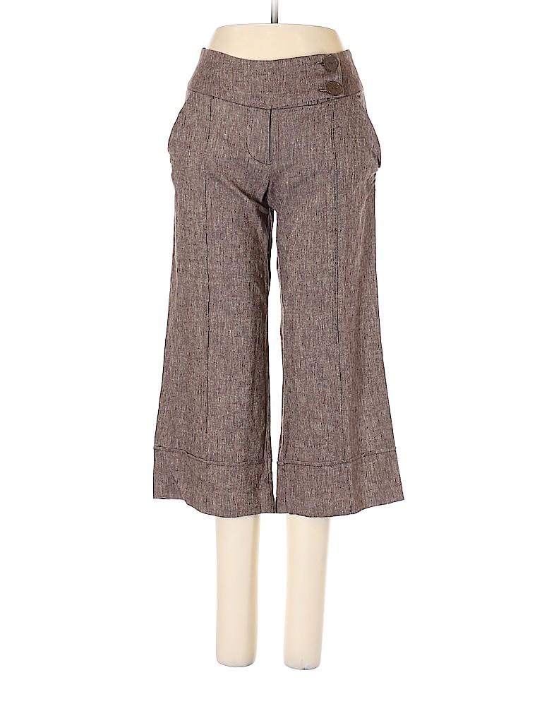 Miss Bisou Women Linen Pants Size 5