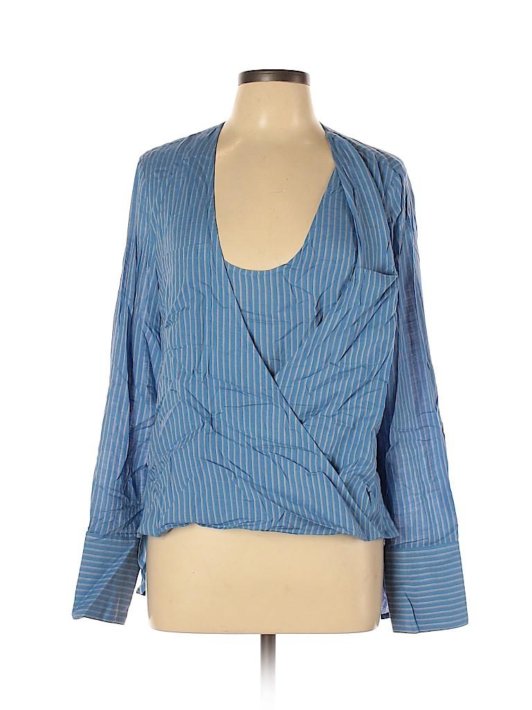BCBGMAXAZRIA Women Long Sleeve Top Size L