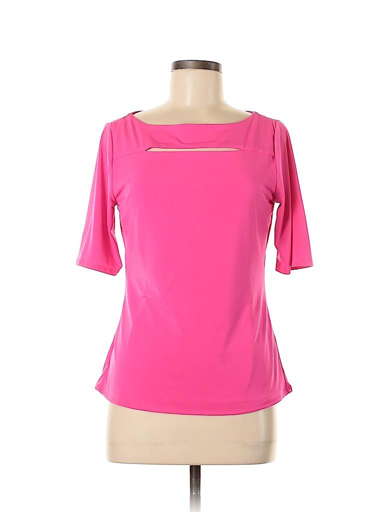 Premise Studio Women Short Sleeve Top Size M