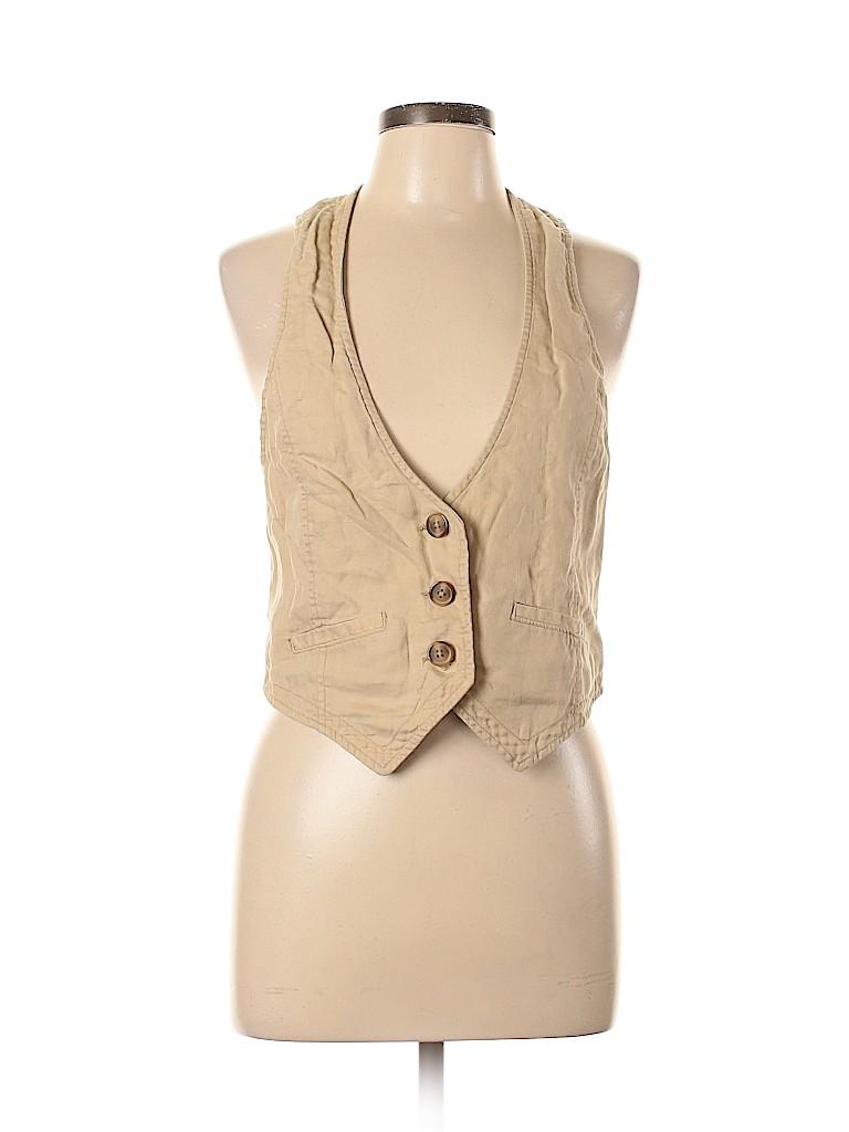 Old Navy Women Tuxedo Vest Size L