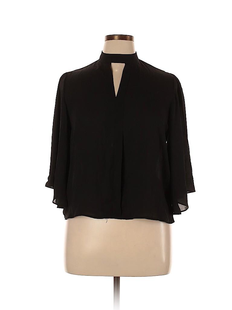Charlotte Russe Women Long Sleeve Blouse Size XL