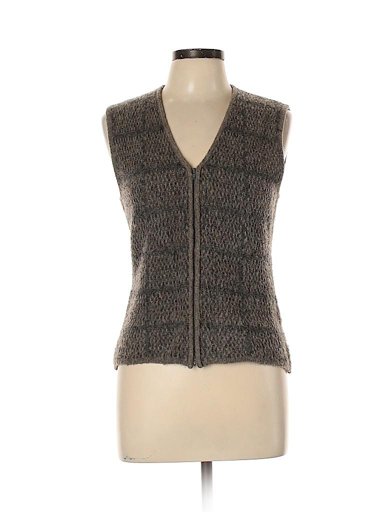 Linda Allard Ellen Tracy Women Sweater Vest Size L