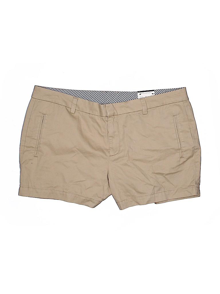 Stylus Women Khaki Shorts Size 14
