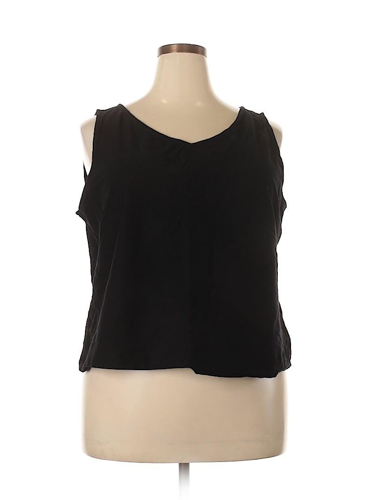 Eileen Fisher Women Sleeveless Top Size 2X (Plus)