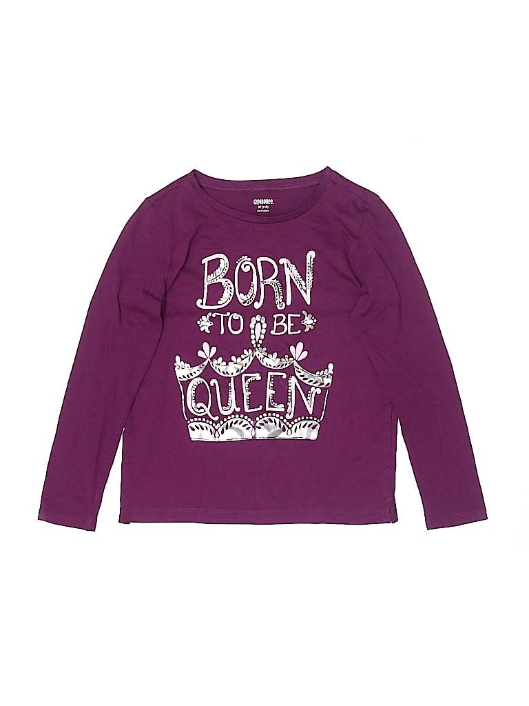 Gymboree Girls Long Sleeve T-Shirt Size 7 - 8