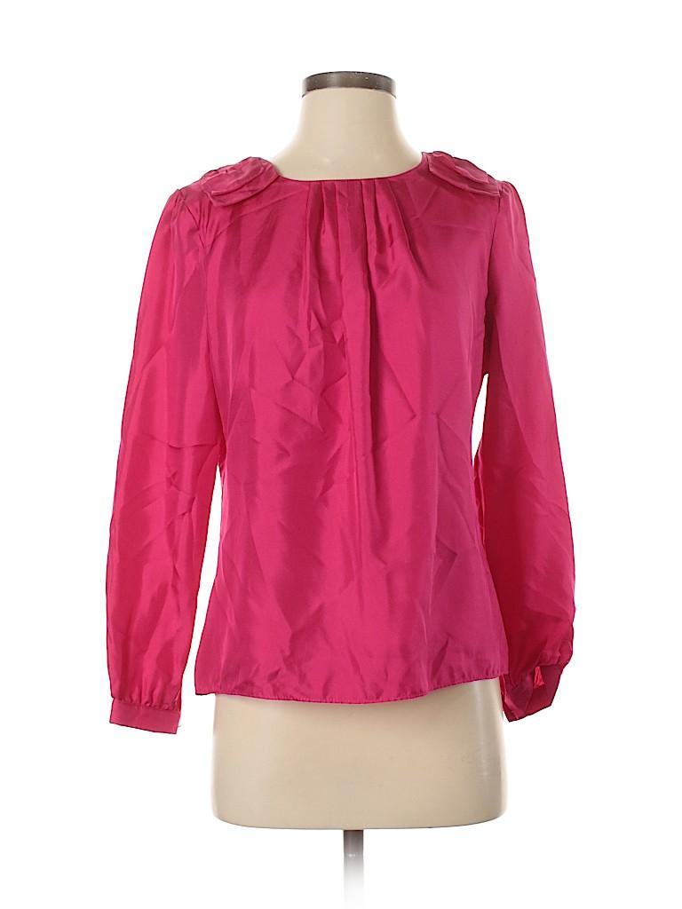 Elizabeth McKay Women Long Sleeve Blouse Size 4