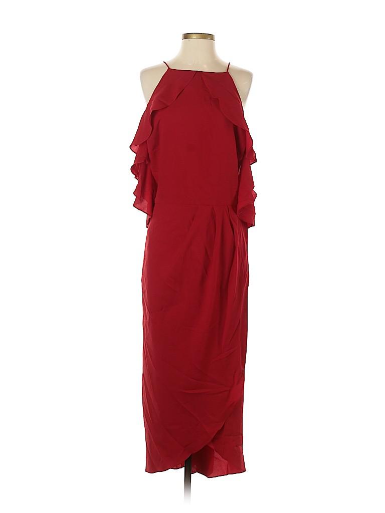 City Chic Women Casual Dress Size 14 Plus (XS) (Plus)